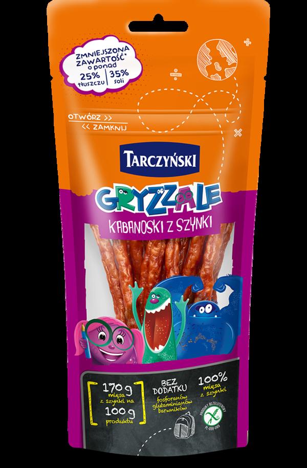 Gryzzale Kabanoski z Szynki