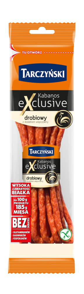 Kabanos Exclusive Drobiowy