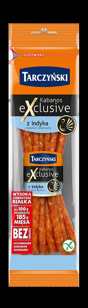 Kabanos Exclusive Z indyka
