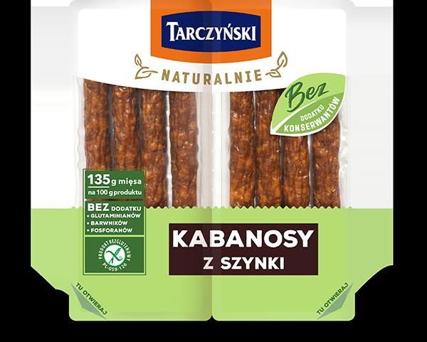 Kabanosy z szynki
