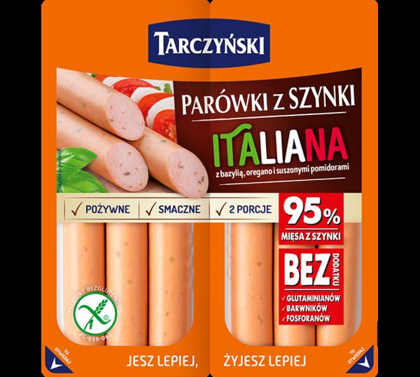 Parówki z szynki Italiana