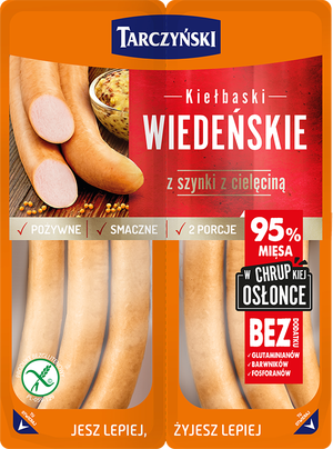 Veal and Ham Vienna Sausages